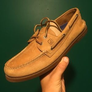 Mens Sperry Slip On Boat Shoes Loafers 11 1/2